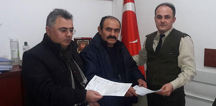 Şehit Babası Afrin'e Gönüllü Askerlik İçin Başvurdu