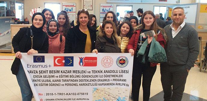 Şehit Besim Kazar MTAL Avrupa'da