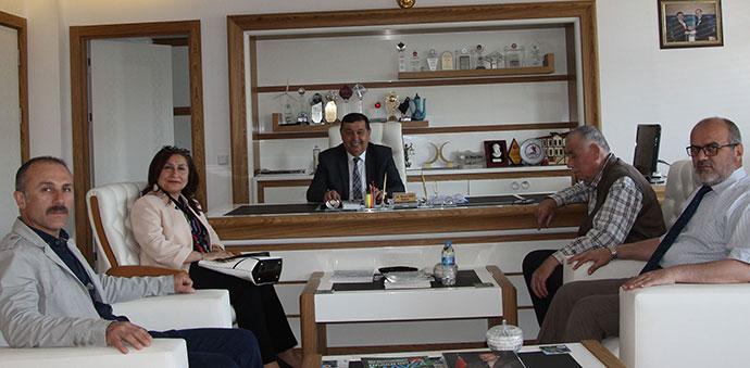 SGK'dan Başkan İkiz'e Ziyaret