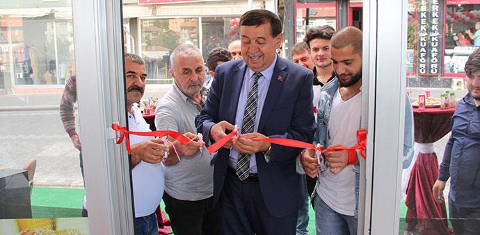 Simit Molası Havza'da Açıldı
