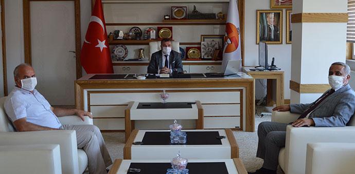 Tarım Ve Orman İl Müdürü Sağlam'dan Başkan Özdemir'e Ziyaret