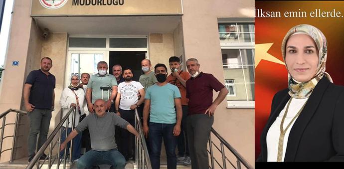 Türk Eğitim- Sen Adayı Dilek Aykaç İLKSAN Temsilcisi Seçildi