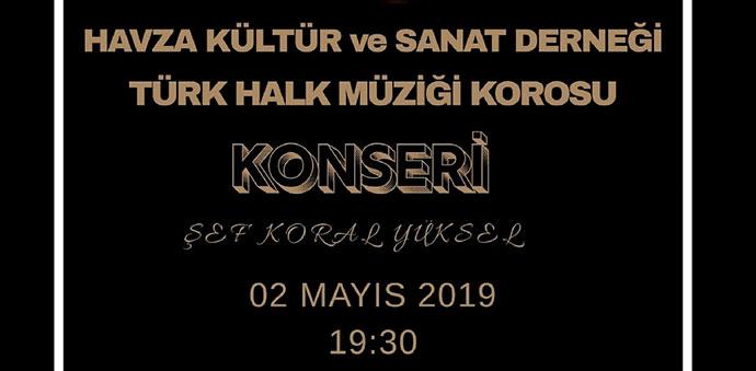 Türk Halk Müziği Korsu Konser Verecek