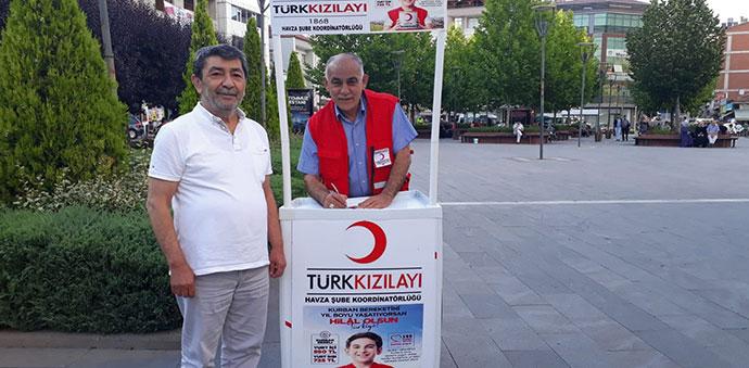 Türk Kızılay Havza Temsilciliği Stant Açtı