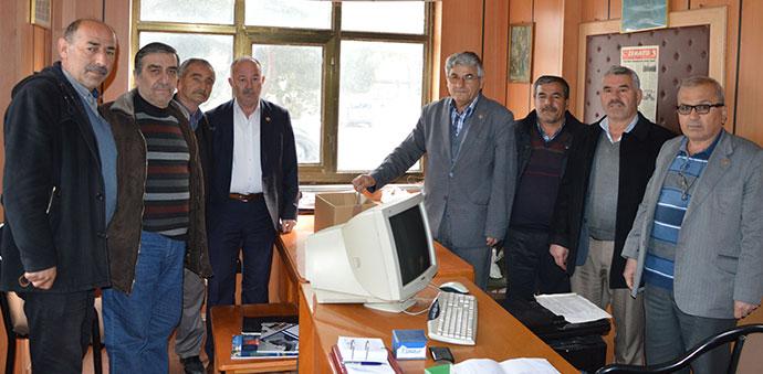 Türkiye Muhtarlar Havza Şubesinde Turguter Yeniden Başkan