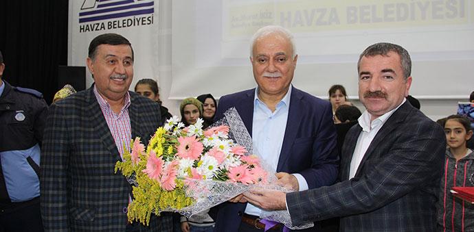 Ünlü İlahiyatçı Prof. Dr. Nihat Hatipoğlu Havza 'da