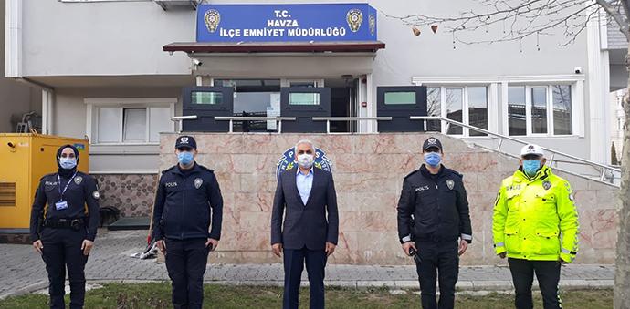 Urhal Polis Ekiplerinin Çalışmalarını Denetledi