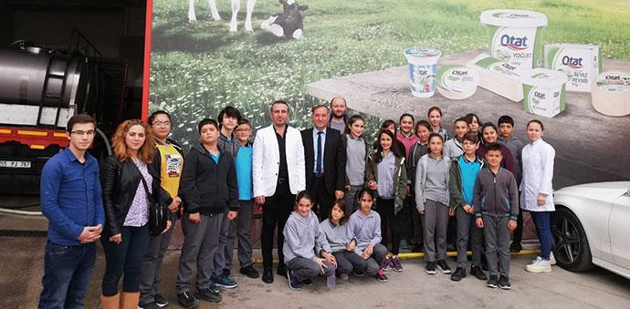 Vakıfbank Atatürk Ortaokulu'ndan OTAT Ziyareti