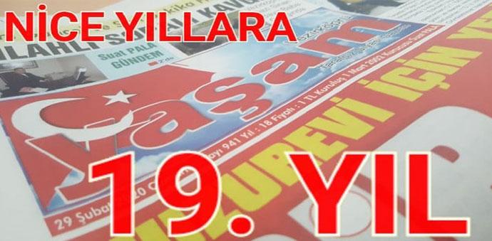 Vezirköprü Yaşam Gazetesi 19. Kuruluş Yıldönümünü Kutladı