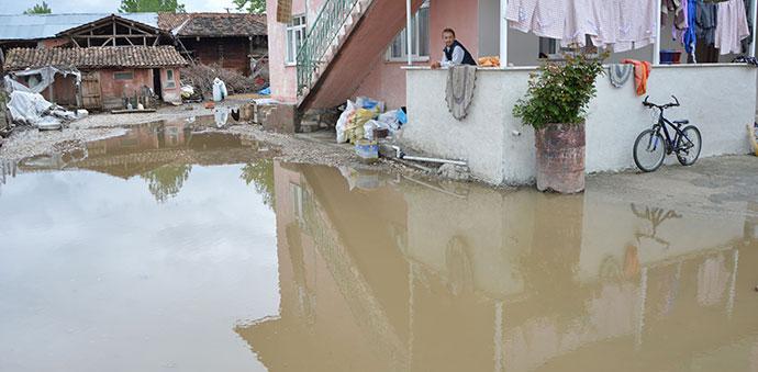 Yağışlar Havza'da Etkili Oldu