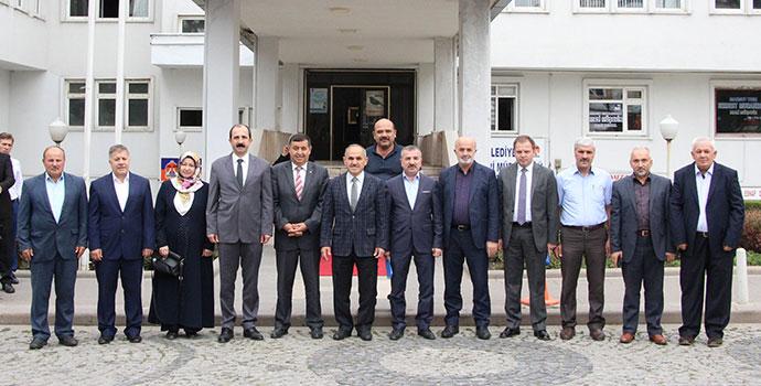 Yerel Yönetimler Başkan Yardımcısı, Havza'yı Ziyaret Etti