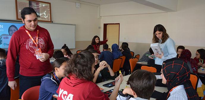 YGA'lı Gençlerden Bilim Eğitimi