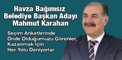 Karahan, Son Yapılan Anketlerde En Önde Gittiğini Belirtti