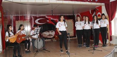 10 Kasım Atatürk'ü Anma Programı Düzenlendi