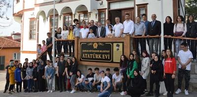 100. Yılda Yüz Öğrencimizle Samsun'dan Kurtuluş Yoluna Proje Gezisi