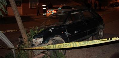 2 Otomobil Çarpıştı Sürücüleri Yaralandı