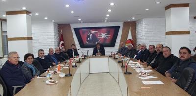 2018 Yılı Son Meclisi Toplandı