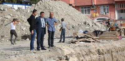 25 Mayıs Ortaokul Binası İnşaatı Başladı