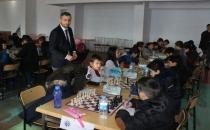Havza'da Satranç Turnuvası