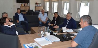 Adana TSO'dan Havza TSO'ya Ziyaret
