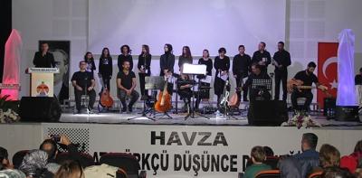 ADD Havza Şubesinden Öğretmenler Günü konseri