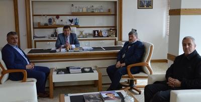 Afrin Sonrası Belediye Başkanını Ziyaret Ettiler