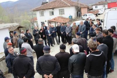 Ahmet Demircan Köy Ziyaretlerine Katıldı