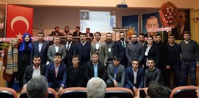 Ak Parti Gençlik Kolları Genel Kurulu Yapıldı
