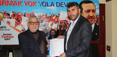 Ak Parti Havza Belediye Meclis Üyeliğine Adaylığını Açıkladı