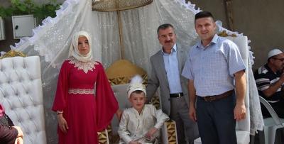 Ak Parti İlçe Başkanı Özdemir'in Mutlu Günü