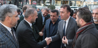 """Ak Parti İlçe Başkanı Kayan;  """"Biz Biriz ve Birlikteyiz."""""""