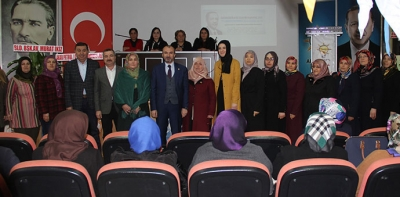 Ak Parti Kadın Kolları Genel Kurulu Yapıldı