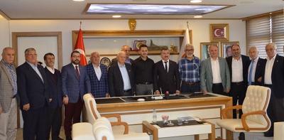 Ak Parti Kurucu İlçe Başkanlarından Havza'ya Ziyaret