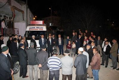 Ak Parti Referandum Çalışmalarına Köylerden Başladı