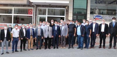 AK Parti Samsun İl Başkanı Başkan Aksu'dan Havza'ya Ziyaret