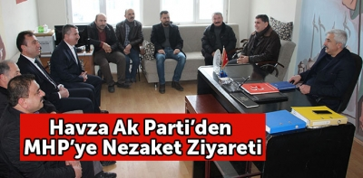 Ak Parti'den MHP'ye Nezaket Ziyareti