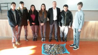 Atık Pil Toplama Projesinde Türkiye İkincisi