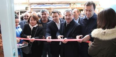 Ay Market Açılışı Yapılarak Hizmete Başladı