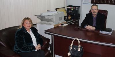 Başkan Adayı Mehtap Demiralp Yeşilbaş'tan Ziyaret