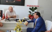 Başkan İkiz SASKİ'yi Ziyaret Etti