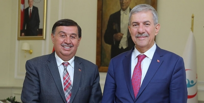 Başkan İkiz'de Bakan Demircan'a ziyareti