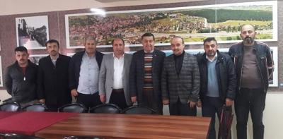 Başkan İkiz'den Dernek Ziyareti