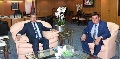Başkan İkiz'den Emniyet Genel Müdürü Celal Uzunkaya'ya Ziyaret