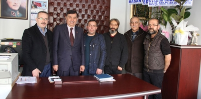 Başkan İkiz'den Gazetemize Ziyaret