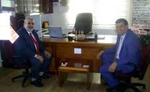 Başkan İkiz'den Müftü Akyazı'ya Ziyaret