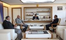 Başkan İkiz'e Teşekkür Ziyareti