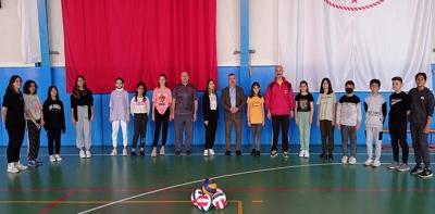 Başkan Özdemir Genç Sporcular İle Buluştu