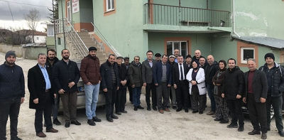 Başkan Özdemir'den Kırsal Mahalle Ziyaretinde Bulundu