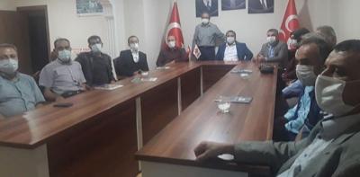 Başkan Özdemir'den MHP'ye Ziyaret