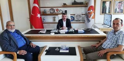 Başkan Özdemir'e Havza Müftülüğünden Ziyaret